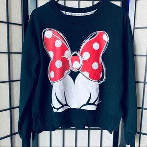 Disney Minnie Mouse Crewneck sweater sz XS